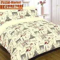 Комплект постельного белья Вилюта Ранфорс 12599 Париж (Двуспальный)