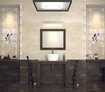 Керамическая плитка Сакура коричневый