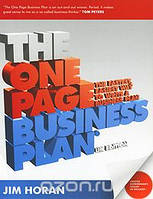 Jim Horan The One Page Business Plan (+ CD-ROM)