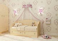 """Детский диван """"Kiddy 2"""" (Размер: 70х140 см) ТМ Вальтер-С Ваниль - Венге светлый D-1.07. K1"""