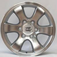 WSP-Italy W1707 Yokohama silver polished (R20 W9.5 PCD6x139.7 ET30 DIA106.1)