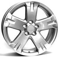 WSP-Italy W1750 Catania silver polished (R18 W7.5 PCD5x114.3 ET45 DIA60.1)