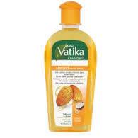 Масло для волос Dabur Vatika - миндальное масло, обогащенное кокосом и кунжутом, 200мл         , фото 1