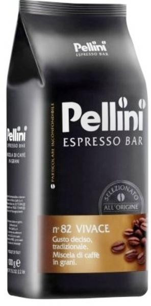 Кофе в зернах Pellini Espresso Bar n.82 Vivace Италия 1 кг.