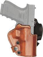 Кобура Front Line LKC для Glock 19/23/32. Материал - Kydex/кожа/замша. Цвет - коричневыйКобура Front Line LKC для Glock 19/23/32. Материал -