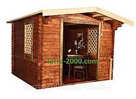 Домики дачные, домики для дачи, беседки на даче, беседки с барбекю, домики садовые