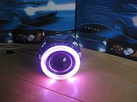 Ангельские глазки CCFL Angel Eyes (Фиолетовый) 78,5mm для линз G5 2.5, фото 1