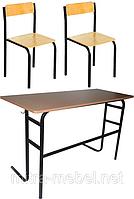Комплект шкільних меблів ЕКОНОМ-1, фото 1