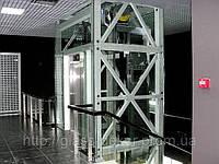 Панорамный лифт (Остекление лифтовой шахты)