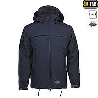 M-Tac куртка Soft Shell Police Navy Blue, фото 1