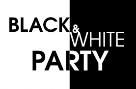 Вечеринка Black & White Черное и белое