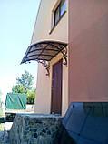 Кованый козырек над крыльцом, фото 3