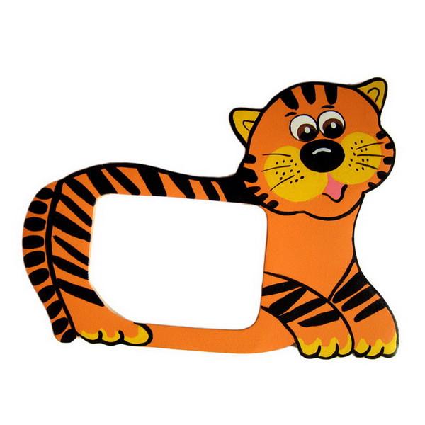 Детская фоторамка «Тигренок», Funny Animals