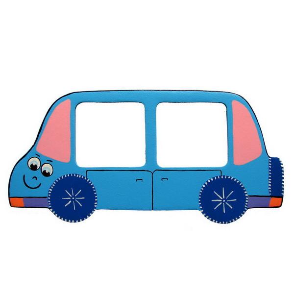 Детская фоторамка «Автобус», Funny Animals