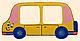 Детская фоторамка «Автобус», Funny Animals, фото 2