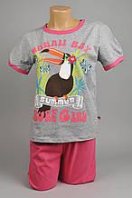 Пижама для девочек (98-128)