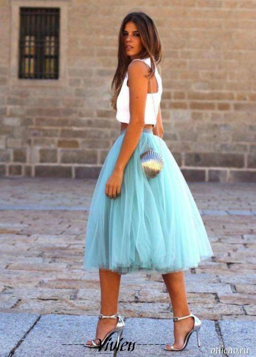 Фатиновая юбка доставка