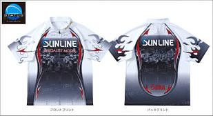 Футболка Sunline PRODRY ZIP-UP SHIRT STW-5513CW ц:белый