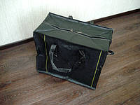 Сумка хозяйственная чёрная №5 60х50х40см