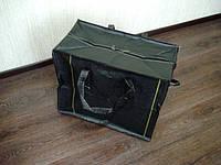 Сумка хозяйственная чёрная №6 70х60х40см