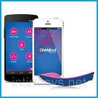 Вибратор для ношения в трусиках - OhMiBod blueMotion App Controlled Massager