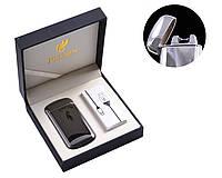 Подарочная USB зажигалка (Электроимпульсная) №4766-3 Black
