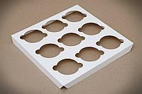 Вставка в коробку для 9 капкейків