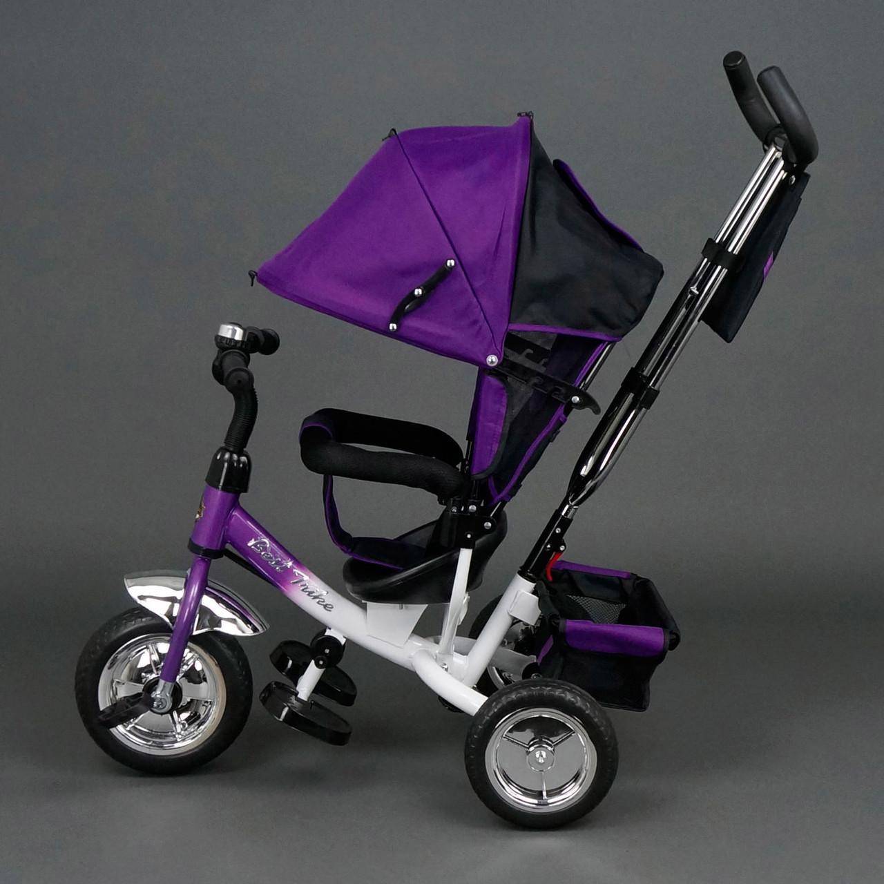 Дитячий триколісний велосипед Best Trike 6588 фіолетовий