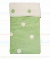 Одеяло детское двухстороннее в горошек, хлопок Womar 100х150 см