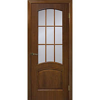 Межкомнатные двери Омис Капри ПО орех (шпон)