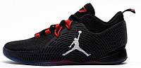 Баскетбольные кроссовки Air Jordan CP3.X Black Аир Джордан низкие черные