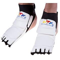 Защита стопы т-до(носки) WTF белая р XL