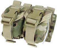 Подсумок Condor Double Frag Grenade Pouch для 2-х гранат Цвет - МультикамПодсумок Condor Double Frag Grenade Pouch для 2-х гранат Цвет - Мультикам