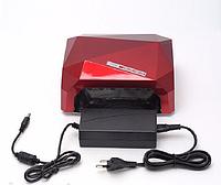 Лампа гибридная УФ - CCFL+LED - 36 W (Вт). Лампа для ногтей, лампа для маникюра, LED UV (УФ) лампа для геля.