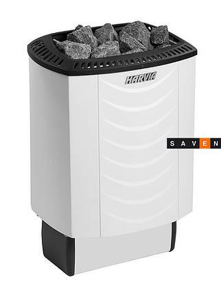 Электрическая каменка Harvia Sound M80E белая для сауны и бани, фото 2