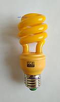 Антимоскитная энергосберегающая лампа 220V, 15W, E27,