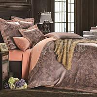 Комплект постельного белья Вилюта сатин жаккард Tiare двуспальный Евро 1610
