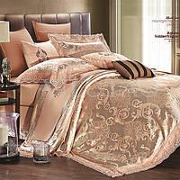 Комплект постельного белья Вилюта сатин жаккард Tiare двуспальный Евро 1607