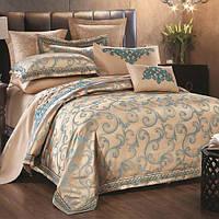 Комплект постельного белья Вилюта сатин жаккард Tiare двуспальный Евро 1604