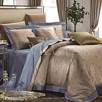 Комплект постельного белья Вилюта сатин жаккард Tiare двуспальный Евро 1609