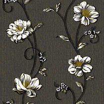 Обои бумажные, крупные цветы, Деми 1261, 0,53*10м, фото 3