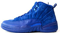 Баскетбольные кроссовки Air Jordan 12 Blue Аир Джордан 12 синие