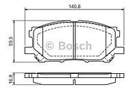 Передние тормозные колодки LEXUS RX 300-350