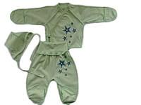 Комплект для новорожденного 3-х предмет. (кулир)