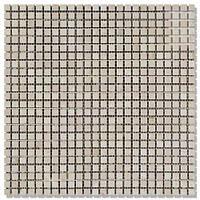 Мраморная мозаика МКР-1П (полированная) 10*10*6 Mix Beige