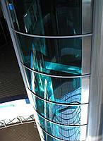 Гнутое стекло (каленное) в строительстве.безопасное гнутое стекло., фото 1