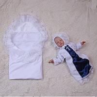 """Набор для крещения """"Любовь"""" белый"""