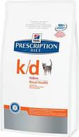PD Feline K/D-Захв. нирок, ниркова нед-сть; серцева нед-сть; СКХ-1,5 кг