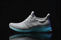 Кроссовки мужские  Adidas Ultra Boost FutureCraft 3D Grey Blue. интернет магазин обуви, адидас ультра буст