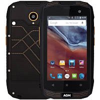 """Противоударный смартфон AGM A2 Black черный IP68 (2SIM) 4"""" 2/16 GB 2/8 Мп 4G оригинал Гарантия!"""